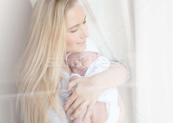 Сток-фото: молодые · матери · ребенка · портрет · Nice