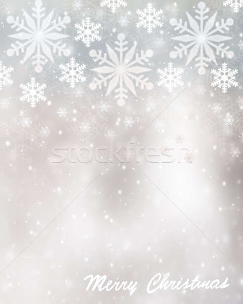 Christmas greeting card background Stock photo © Anna_Om