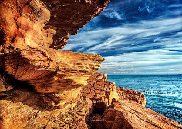 ストックフォト: 良い · 希望 · 海岸 · 半島 · 南アフリカ · ポイント
