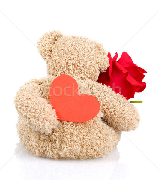 Soft toy for Valentine day Stock photo © Anna_Om