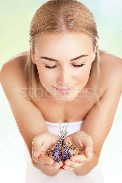 Beautiful woman at spa salon Stock photo © Anna_Om