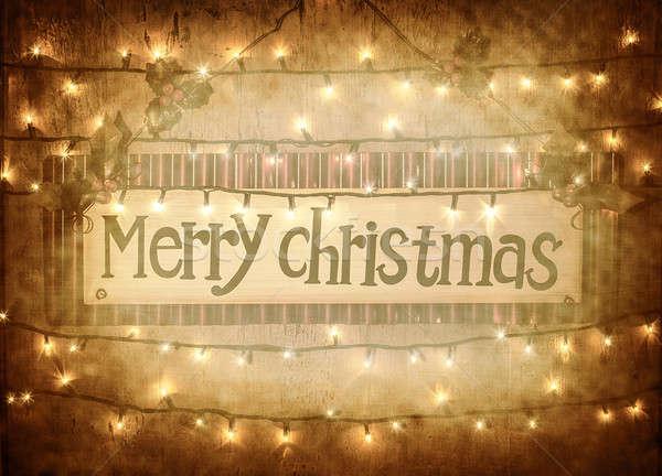 Merry Christmas Stock photo © Anna_Om