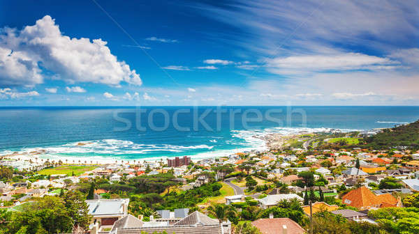 Seaside of Cape Town Stock photo © Anna_Om
