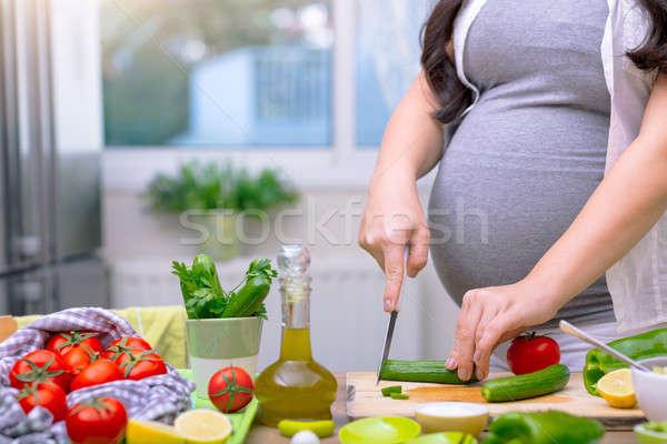 健康 栄養 妊婦 キュウリ 新鮮な ストックフォト © Anna_Om