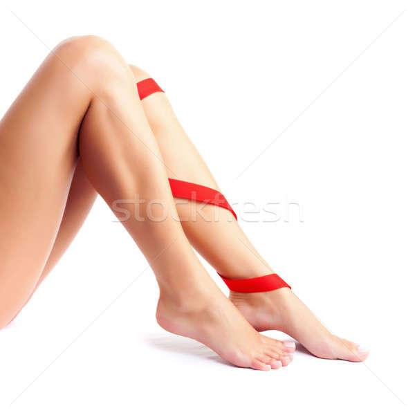 Legs pain concept Stock photo © Anna_Om