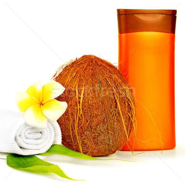 Coconut oil spa therapy Stock photo © Anna_Om