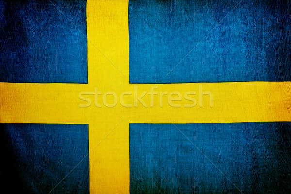Swedish flag background Stock photo © Anna_Om