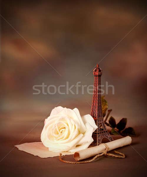 Romantyczny martwa natura Fotografia piękna ciemne grunge Zdjęcia stock © Anna_Om