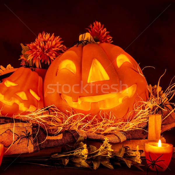 Stock photo: Halloween decoration