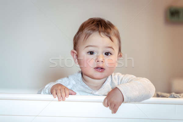Cute little boy Stock photo © Anna_Om