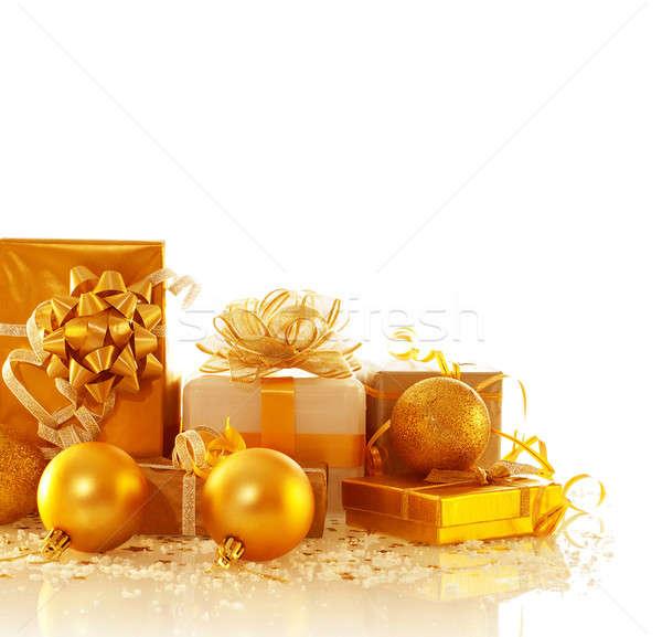 Christmas presents Stock photo © Anna_Om