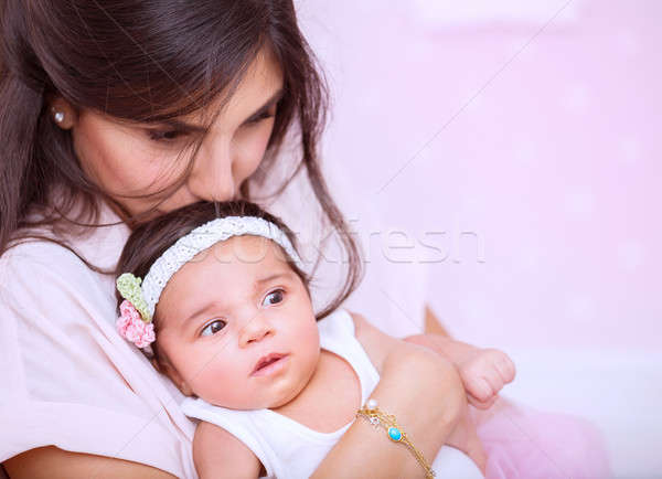 Mother's love concept Stock photo © Anna_Om