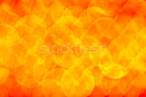 Vakantie magie lichten uit focus partij Stockfoto © Anna_Om