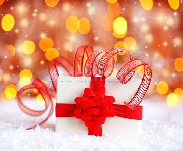 Beautiful gift box Stock photo © Anna_Om