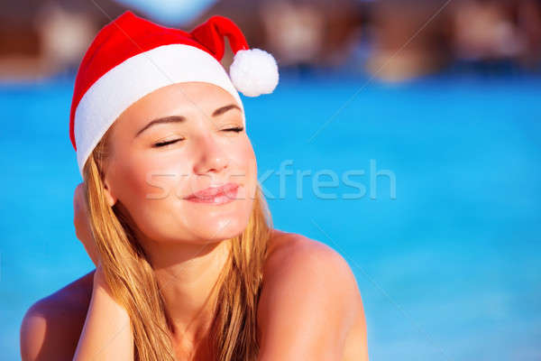 Christmas holidays on exotic country Stock photo © Anna_Om