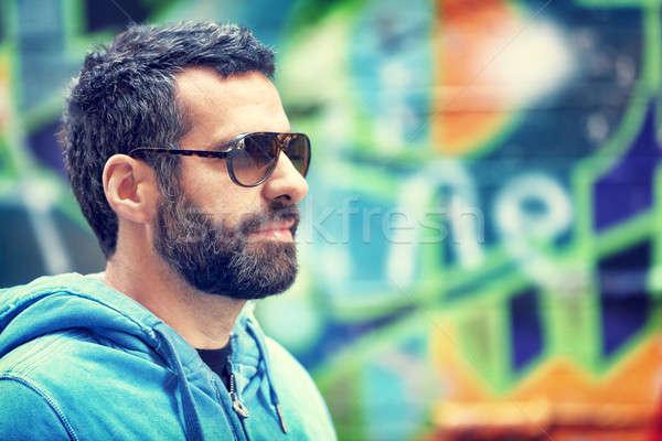 Stylish guy portrait Stock photo © Anna_Om