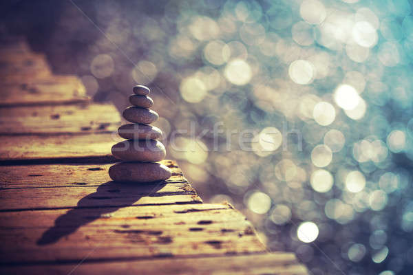 Inner peace and life in balance concept Stock photo © Anna_Om
