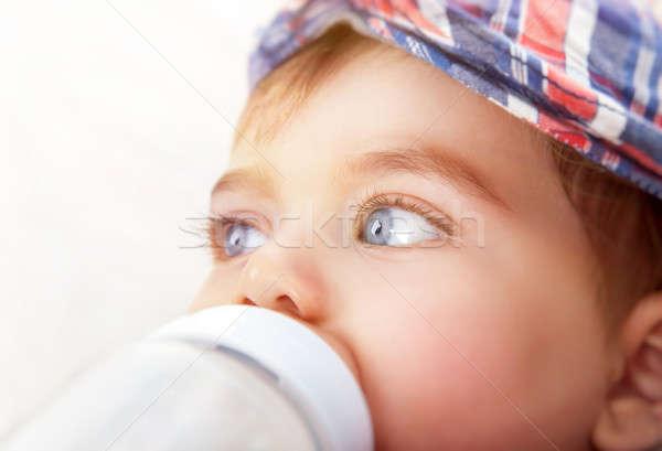 Cute little baby boy Stock photo © Anna_Om
