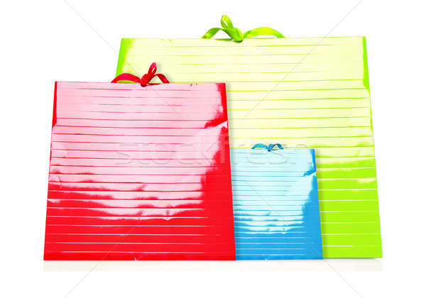 Colorful Shopping Bags Stock photo © Anna_Om