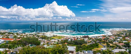 Cape Town city panoramic image Stock photo © Anna_Om