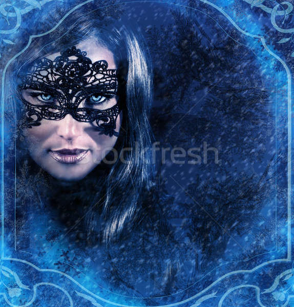 Snow queen Stock photo © Anna_Om