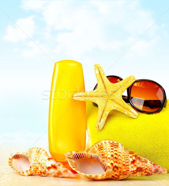 Summertime holidays background Stock photo © Anna_Om