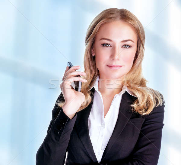 Confident business woman Stock photo © Anna_Om