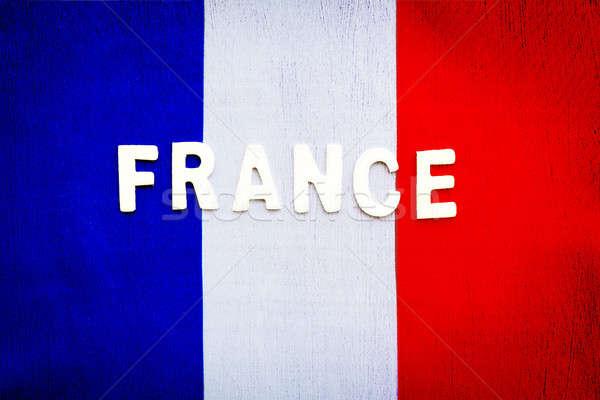 French flag Stock photo © Anna_Om