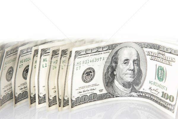 One hundred dollar banknotes Stock photo © Anna_Om