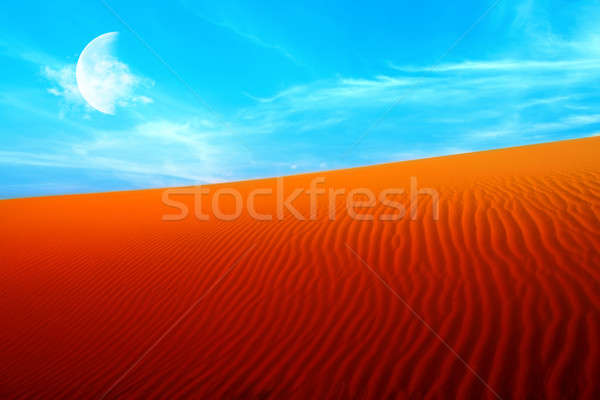 Stock photo: Desert