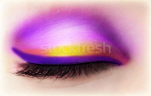 Eye makeup Stock photo © Anna_Om