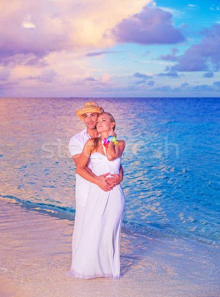 Wedding on the beach Stock photo © Anna_Om