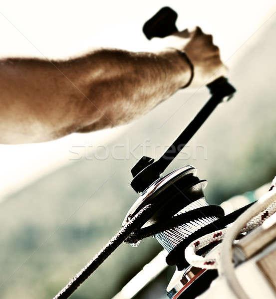 船乗り ロープ ロープ 屋外 活動 ストックフォト © Anna_Om