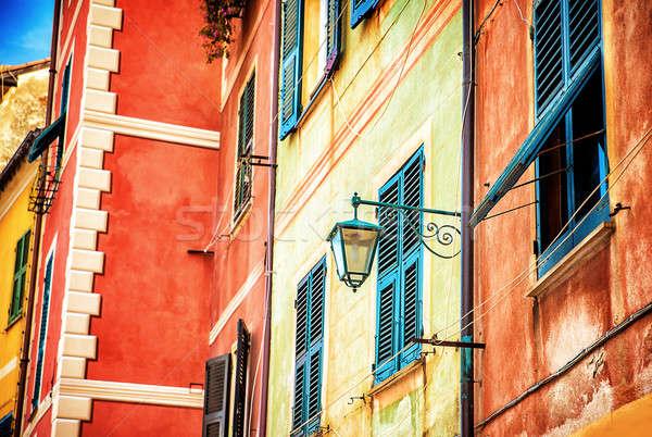 Beautiful colorful Italian house Stock photo © Anna_Om