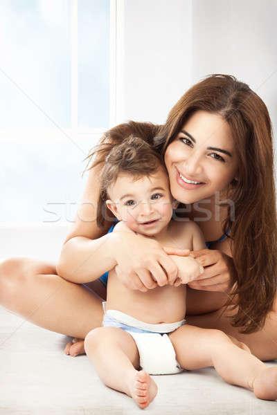 Madre piccolo figlio giovani cute Foto d'archivio © Anna_Om