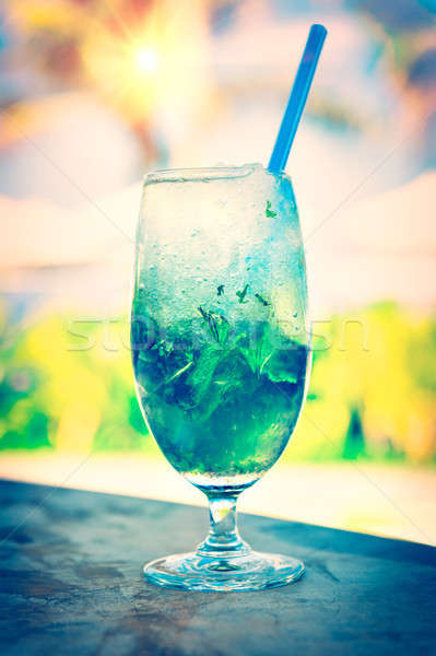Photo stock: Sweet · cocktail · plage · photo
