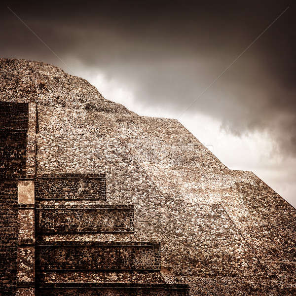 Mexican pyramid Stock photo © Anna_Om