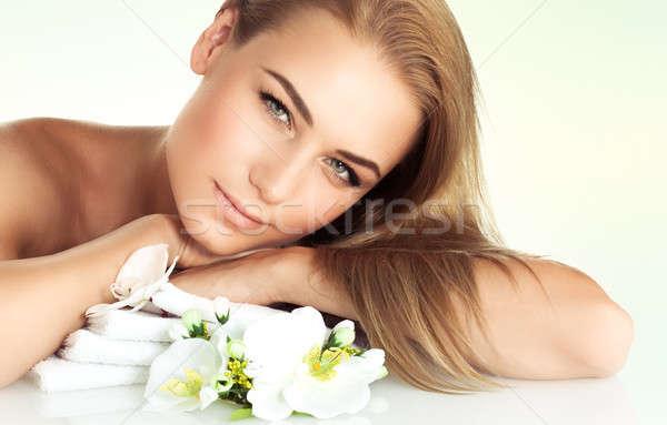 Facial spa Stock photo © Anna_Om
