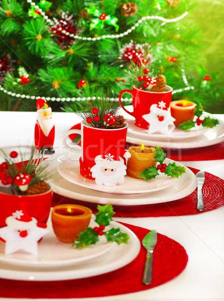 Stock photo: Festive table setting