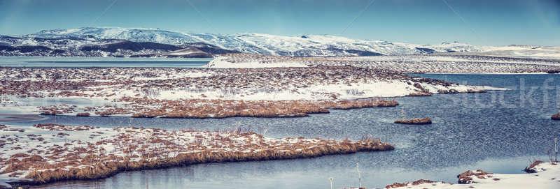 Beautiful winter landscape Stock photo © Anna_Om