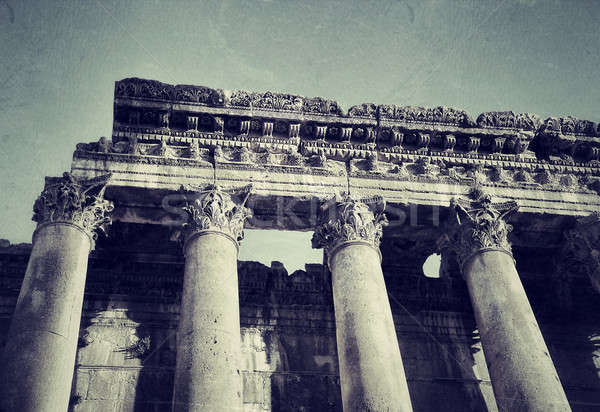 Ruins of ancient columns Stock photo © Anna_Om