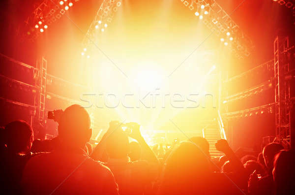 Concert background Stock photo © Anna_Om