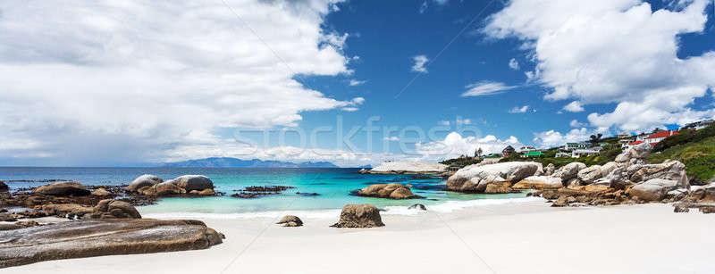 Stockfoto: Mooie · strand · landschap · panoramisch · verbazingwekkend