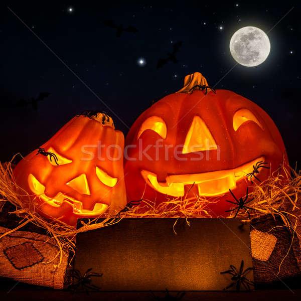 Halloween pumpkin Stock photo © Anna_Om