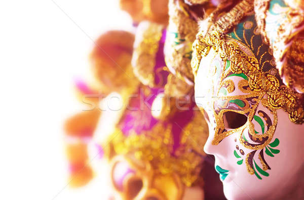 Beautiful Venetian masks  Stock photo © Anna_Om