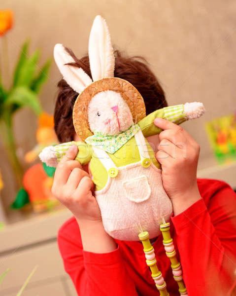Happy Easter holiday Stock photo © Anna_Om