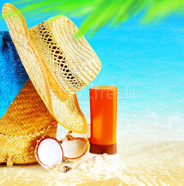 Summertime holidays background Stock photo © Anna_Om