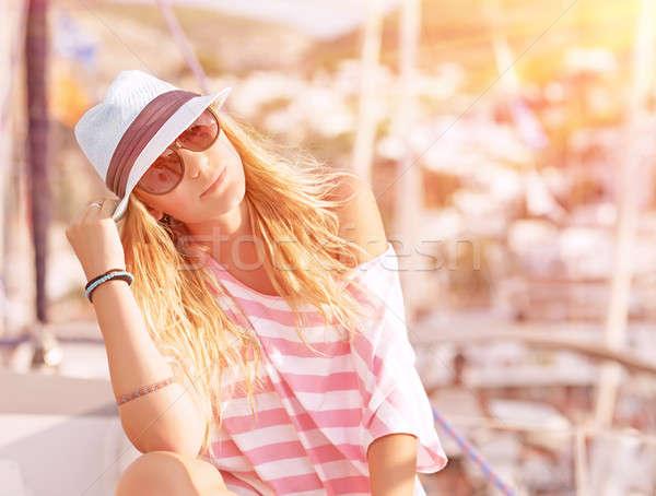 Luxury summer vacation Stock photo © Anna_Om