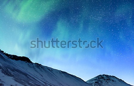 Amazing Northern light Stock photo © Anna_Om