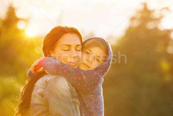 Happy family together Stock photo © Anna_Om